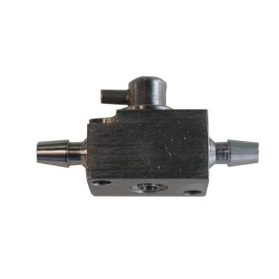 Stainless Steel Three Way Cleaning Valve Device for Large Format Printer