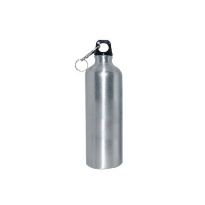 US Stock, 60pcs/Pack 750ml Blank Aluminum Sports Bottle for Sublimation Printing, Silver