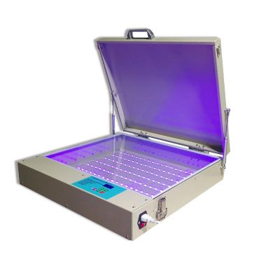 "Tabletop Precise 20"" x 24"" 80W LED UV Exposure Unit"