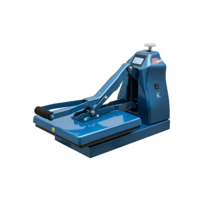 """US Stock, HIX HT-400 Digital Manual Clamshell Heat Press with 15""""x 15"""" Platen and Splitter Stand"""