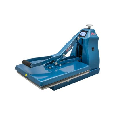 """US Stock, HIX HT-600 Digital Manual Clamshell Heat Press with 16""""x 20"""" Platen and Splitter Stand"""