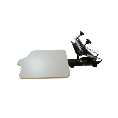 Belgium Stock, Table-board Fixed 1 Color 1 Station T-Shirt Silk Screen Printing Machine