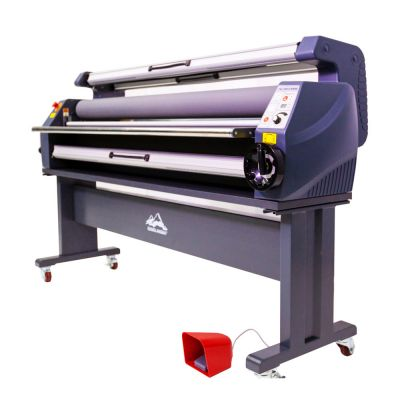 US Stock, Qomolangma 63in Enhanced Version Heat Assisted Cold Laminator, Wide Format Laminating