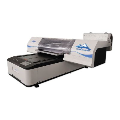 Qomolangma 6090 Digital Flatbed UV Printer, White Ink and Color Ink