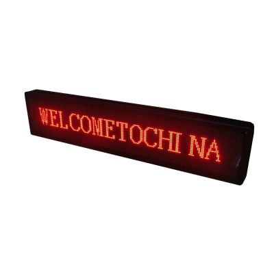 "36"" x 8"" Indoor 4 Lines LED Scrolling Sign  (Tricolor or Single Color)"