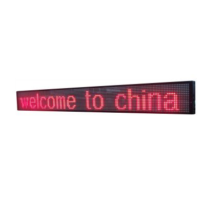 "49"" x 6"" Indoor 2 Lines LED Scrolling Sign (Tricolor or Single Color)"