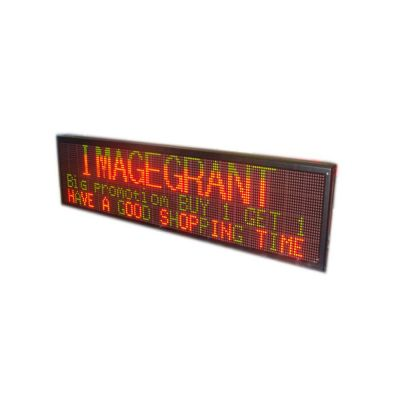 "50"" x 11"" Indoor 4 Lines LED Scrolling Sign(Tricolor or Single Color)"