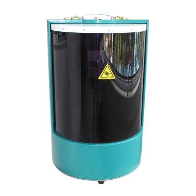 Closed Cylinder Mini Laser Fiber Marking Machine Laser Coding Machine (20w With Rotary Axis)