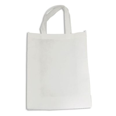 """10pcs 11.8"""" x 15.7"""" Blank Sublimation Non-woven Shopping Bags Tote Bags"""