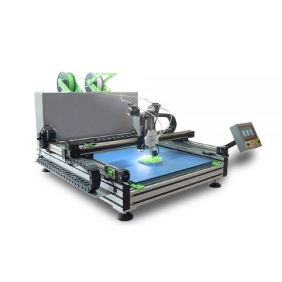 US Stock, 110V Industrial Automatic Color-Changing Shell Channel Letter 3D Printer