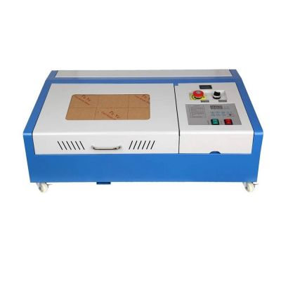 "US Stock, 12"" x 8"" 40W CO2 Laser Engraver and Cutter Worktable FDA"