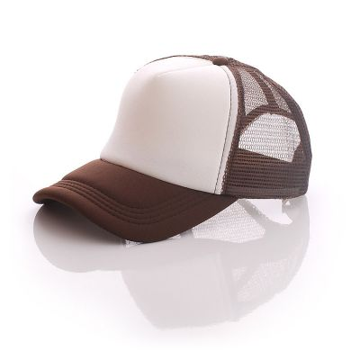US Stock - 10pcs Colorful Polyester Mesh Cap Hat for Sublimation Printing