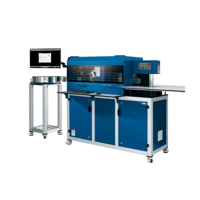 Ving Automatic Channel Letter Bending Machine with Slotting, Notching and Flanging Functions