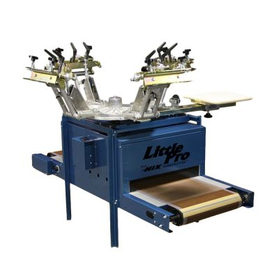 US Stock, Hix Screen Printing Little Pro Printer Dryer Combo