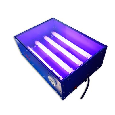 CALCA 110V / 220V 60W 18 x 12in UV Exposure Unit Screen Printing Plate Making Silk Screening DIY