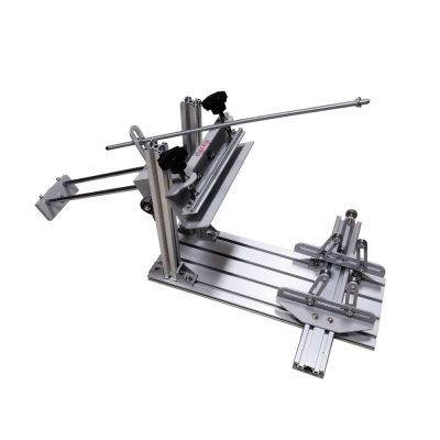 Belgium Stock, Calca Manual Cylinder Screen Printing Press for Pen / Cup / Mug / Bottle (with 10in Squeegee)