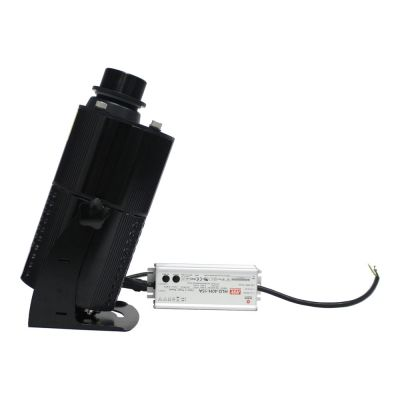 US Stock, 80W Outdoor LED Rotating Gobo Advertising Logo Projector Light (with Custom Rotating Glass Gobos)