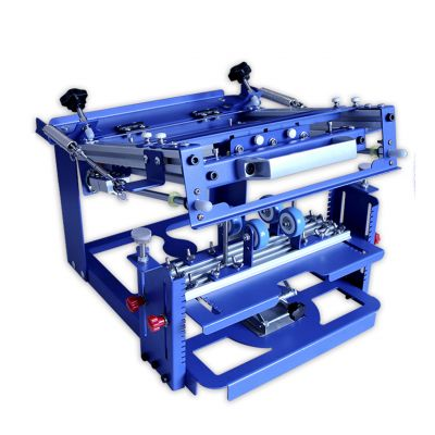 "Belgium Stock, Manual Cylinder Curved Screen Printing Press for Cup / Mug / Bottle with 2 Free Frames (Diameter:3.15"")"