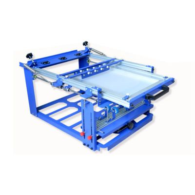 """Manual Cylinder Curved Screen Printing Press for Cup / Mug / Bottle with Self-tensioning Frame (Diameter:5.9"""" )"""