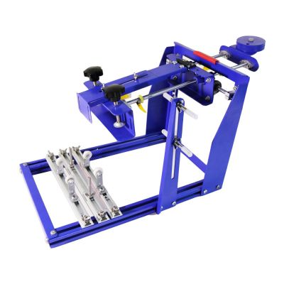"""7.9"""" x 9.8"""" Manual Cylinder Curved Screen Printing Press for Cup / Mug / Bottle (Diameter:6.7"""" )"""