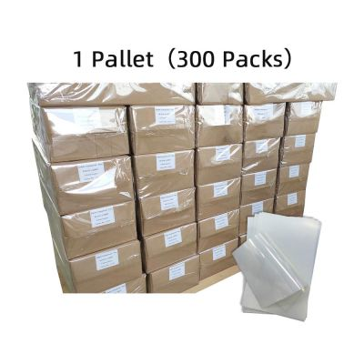 "US Stock, CALCA Waterproof Inkjet Milky Transparency Film 13"" x 19"" - 100 Sheets/pack - 300 Pack (1 Pallet)"