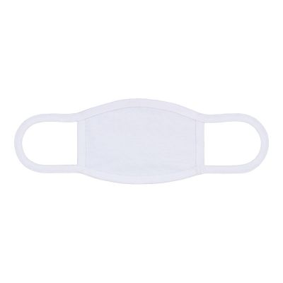"US Stock-100pcs 7"" x 4.7"" Sublimation Blank Dust Protective Face Mouth Mask With Ear Loop"
