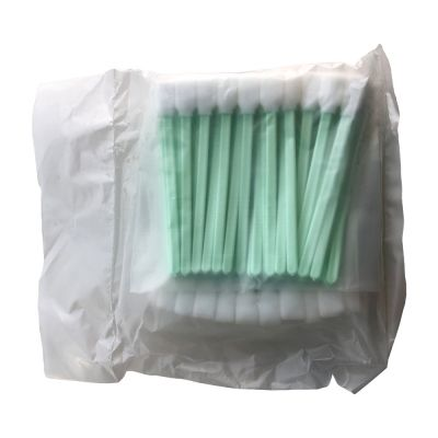 """US Stock-100 pcs Foam Cleaning Swabs for Epson / Roland / Mimaki / Mutoh Inkjet Printers 5"""" Long"""