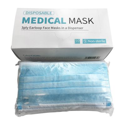 3Ply Disposable Medical Face Mask (NONSTERILE) FDA CE Approval 2,000pcs