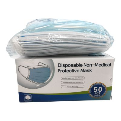 2,000pcs CE FDA Registered 3Ply Ear Loop Disposable Face Mask Anti Dust Masks