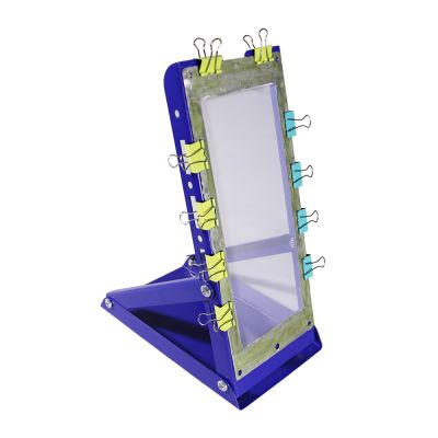 Special Coating and Washing Emulsion Rack for Cambered Screen Plate