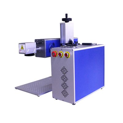 30W Separated CO2 Laser Marking Machine Non-Metal Laser Marker Engraver