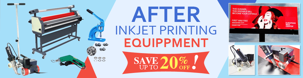 After Inkjet Printing Equippment - Save Up to 20% OFF!
