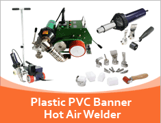 Plastic PVC Banner Hot Air Welder