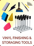 Vinyl Finishing & Storaging Tools