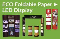 ECO Foldable Paper LED Display