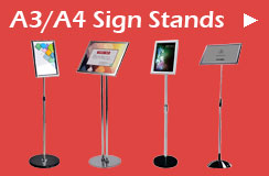 A3/A4 Sign Stands