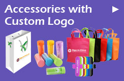 Accessories with Custom Logo
