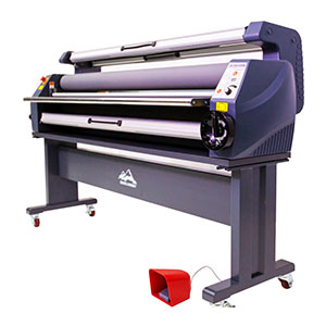 Qomolangma 63in Luxury Full Auto Heat Assisted Cold Laminator