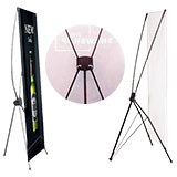 X/L/H Banner Stands