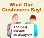 What Our Customers Say!